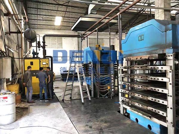 燃气导热油炉-EVA发泡行业